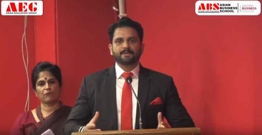 ABS PGDM Orientation 2019 – Mr. Saurabh Sharma's Address