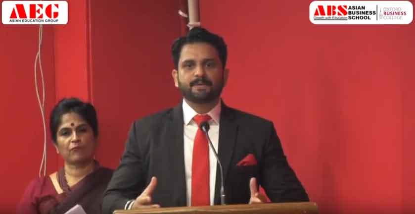 ABS PGDM Orientation 2019 – Mr. Saurabh Sharma's Address