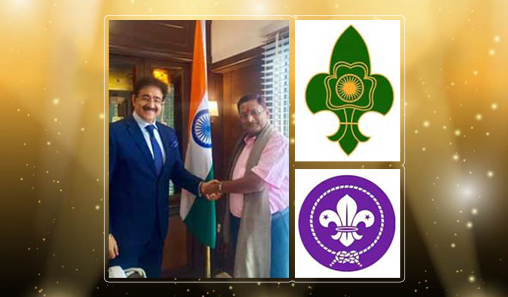 AEG President, Dr. Sandeep Marwah gets nominated as 'Chief Scout of India'!