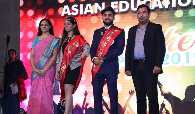 Fresher's Party 2019 at Asian Business School – Crowning of Mr. and Ms. Fresher 2019