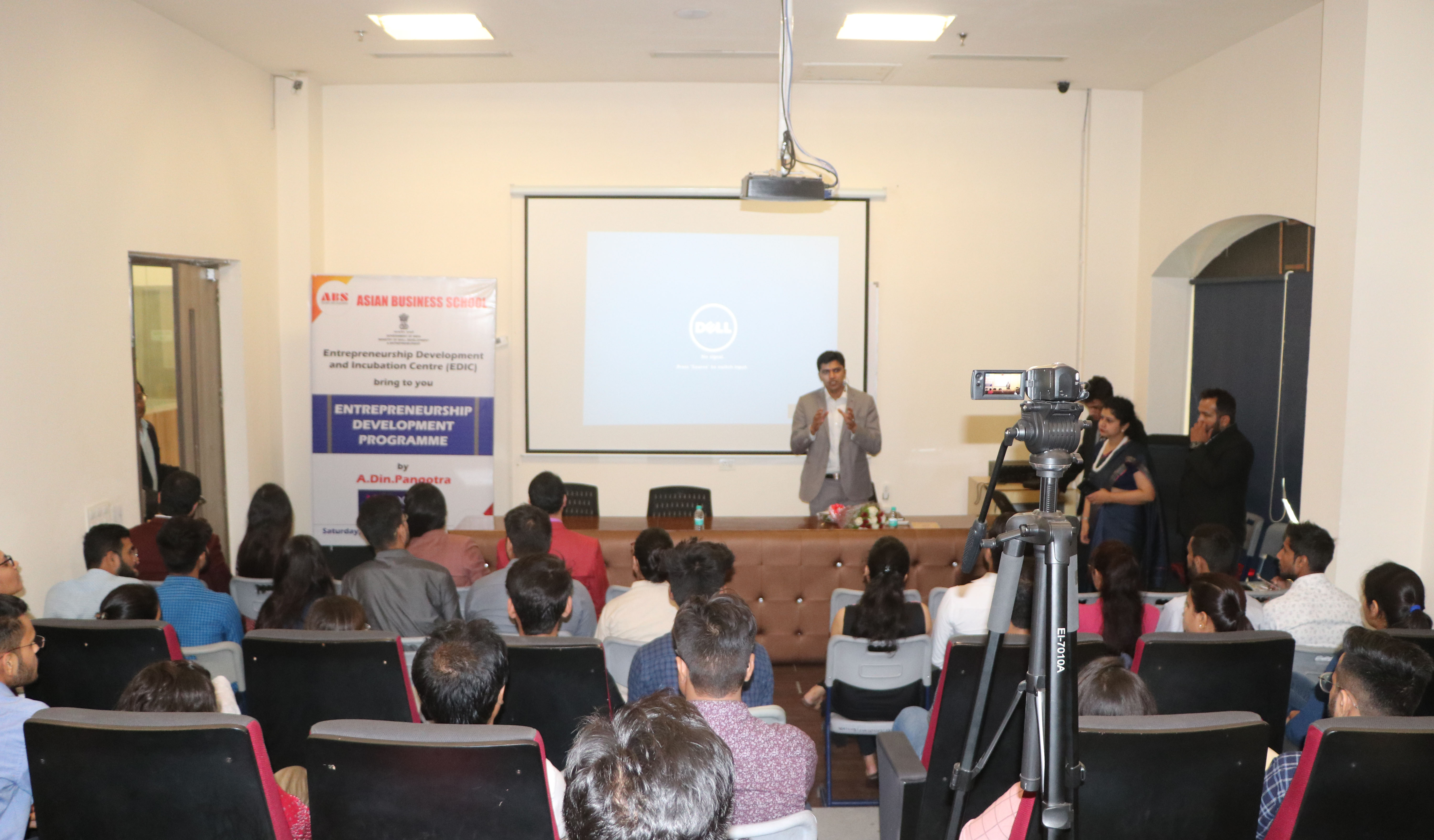 ABS EDIC Organizes a 15-Day Entrepreneurship Development Programme for PGDM Students