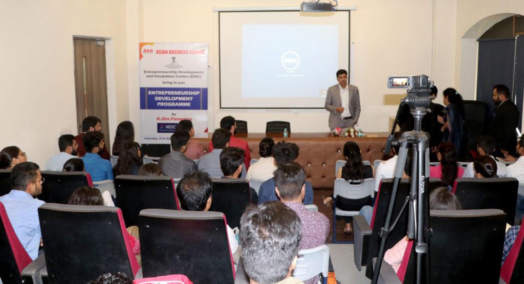 ABS EDIC One-Day Entrepreneurship Development Programme for PGDM Students