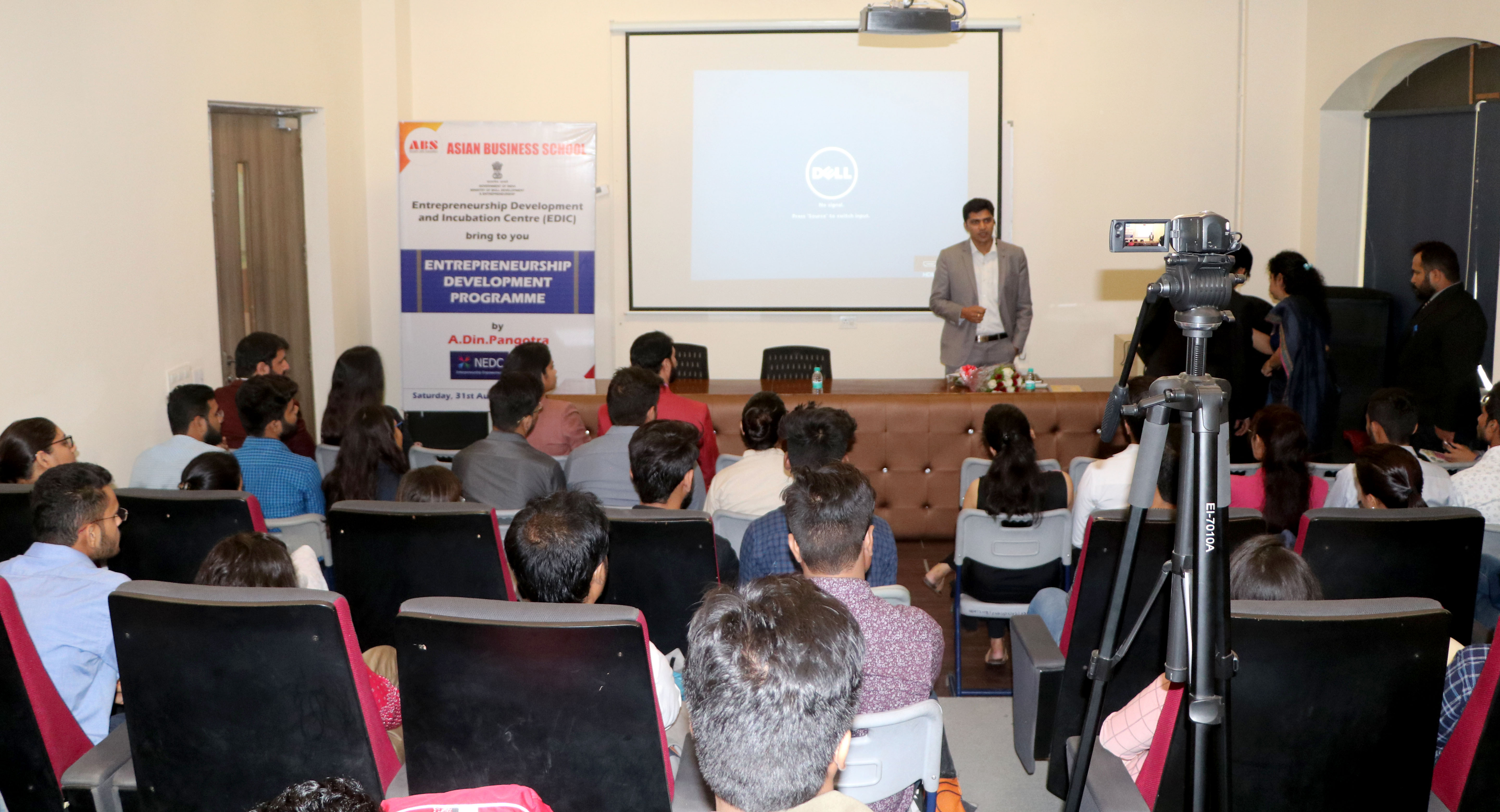ABS EDIC One-Day Entrepreneurship Development Programme for PGDM Students