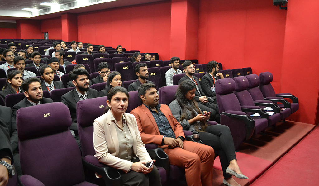 """ABS HR Club conducts a stimulating activity – """"Insights: Happy Employees make great organizations"""" – for PGDM I & III Semester students"""
