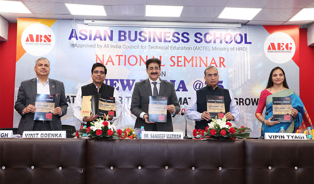 ABS National Seminar on New India@75 – Strategies for Transformation & Growth