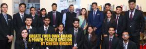 Chetan Bhagat at ABS