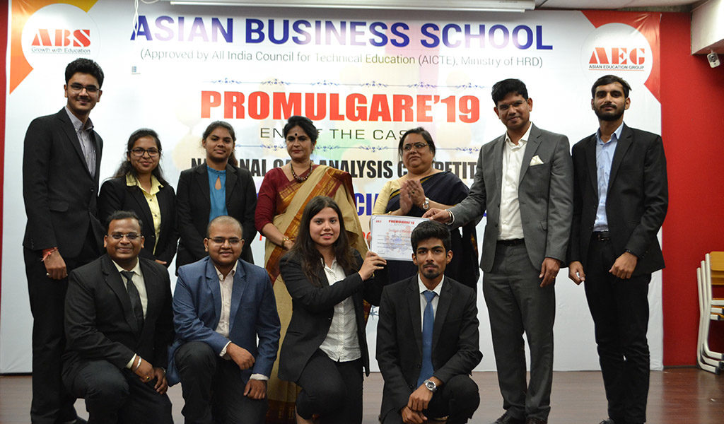 ABS organizes a National Case Analysis Competition, PROMULGARE 2019