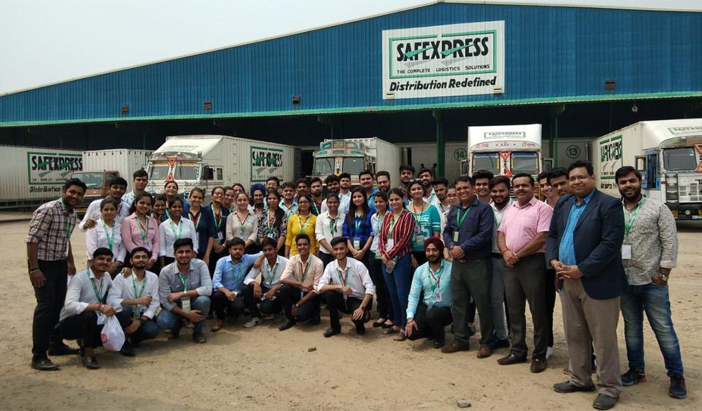 Safeexpress Industrial Visit PGDM 2019-Sep-2019