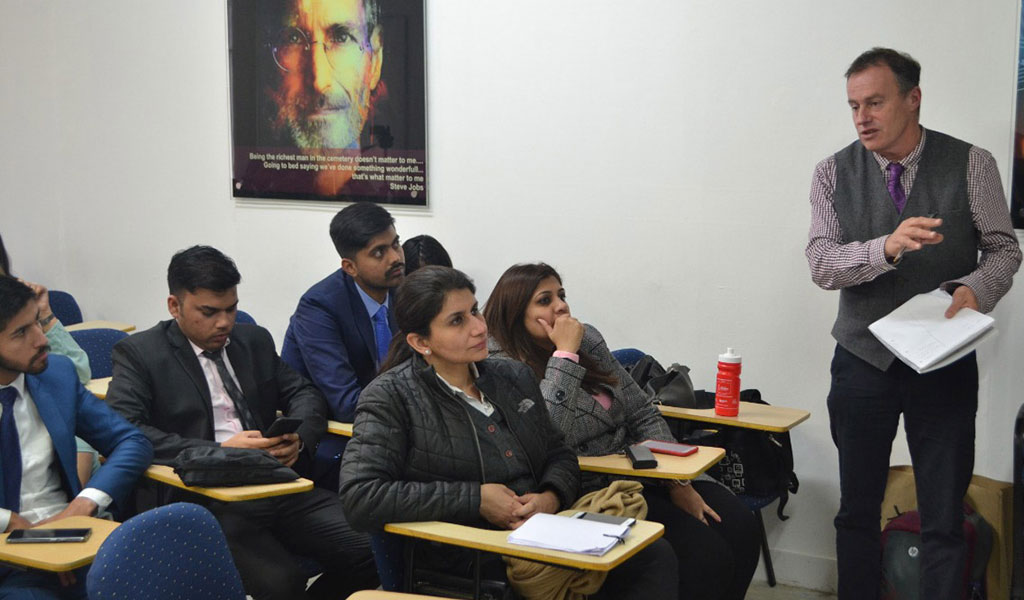 The ABS PGDM Oxford Study Trip 2019 – Lecture Series and Presentations at OBC