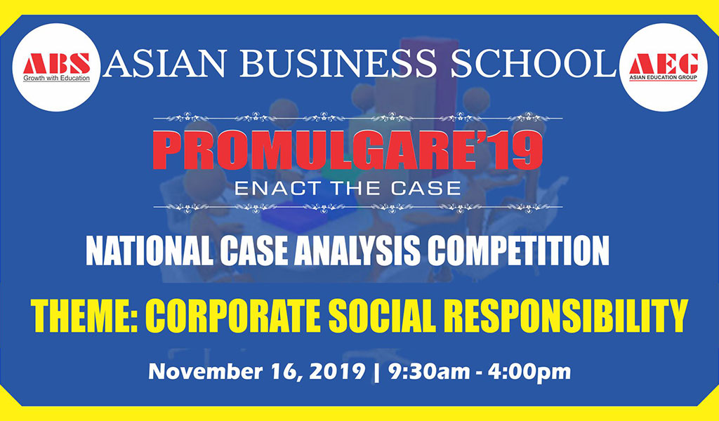 "ABS ""PROMULGARE"" 2019 – National Case Analysis Competition"