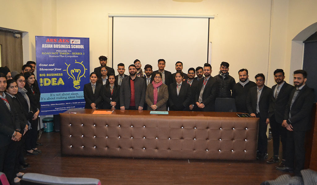 ABS's Entrepreneurship Club, SEED organizes a BusinessPlan Competition for PGDM students