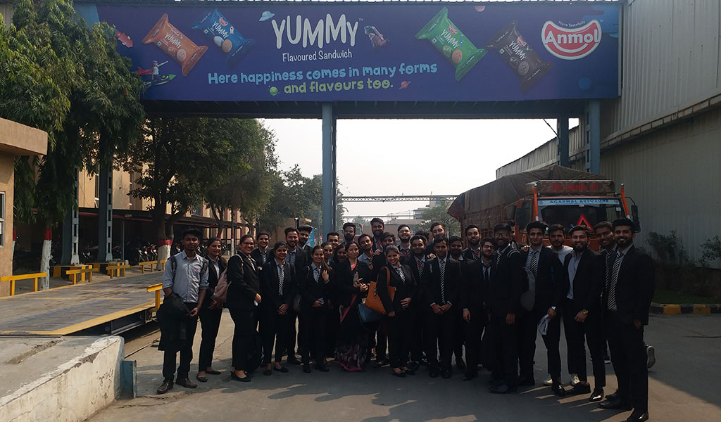 ABS PGDM 2019-21 Batch Students Make A Corporate Visit To Anmol Industries Ltd., Noida