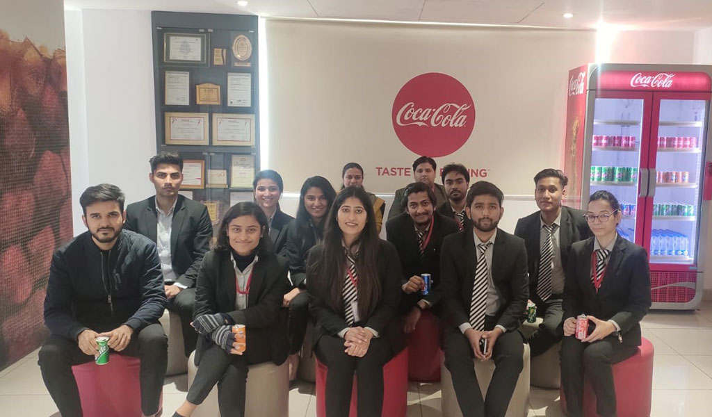 ABS PGDM 2019-21 Batch Students Go For A Corporate Visit To Coca-Cola Bottling Plant, Greater Noida