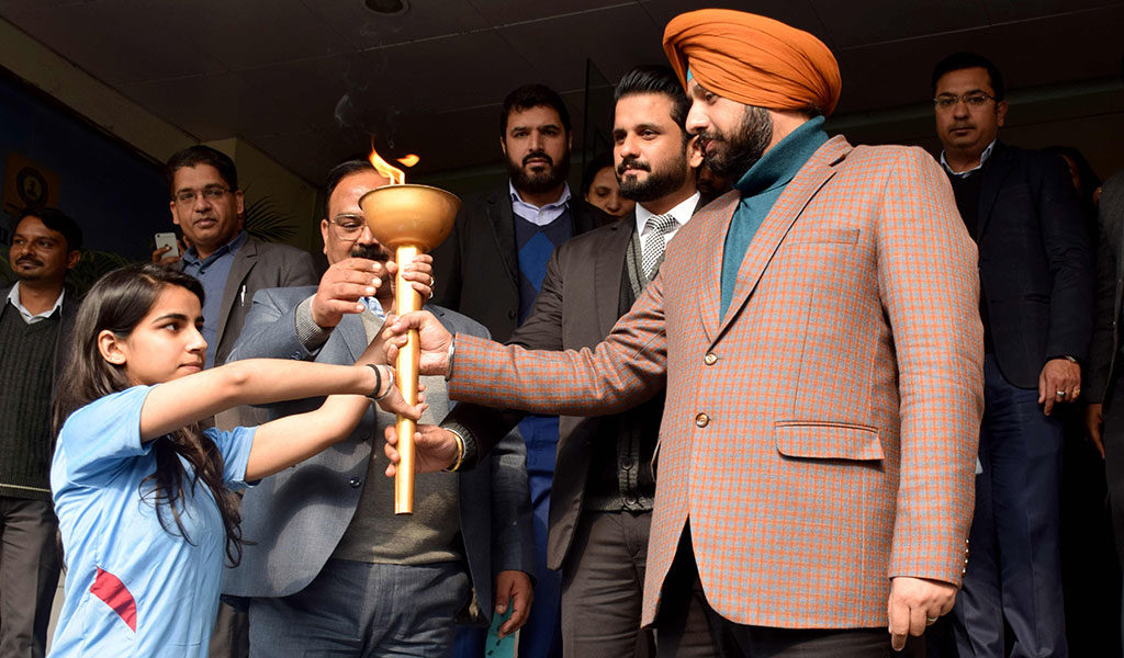 8th Annual Inter-college Sports Meet Flags Off at Asian Education Group