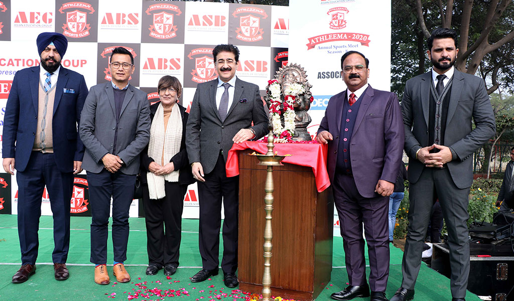 Asian Education Group holds its 8th annual sports extravaganza, ATHLEEMA 2020 with great pomp and splendour!