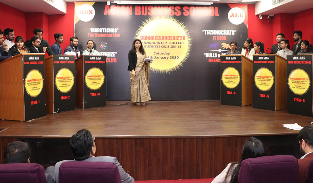 "ABS organizes the Annual Inter-College Business Quiz ""CONNAISSANCEBIZ'20"" with great success!"