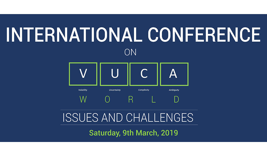 """The 6th ABS International Conference on """"VUCA World: Issues & Challenges"""""""