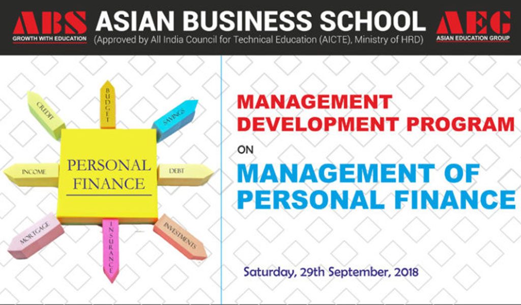 MANAGEMENT DEVELOPMENT PROGRAM on MANAGEMENT OF PERSONAL FINANCE