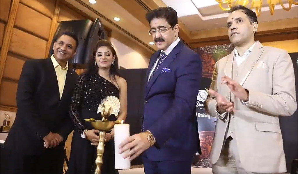 AEG Chairman Dr. Sandeep Marwah Conferred India Leadership Brilliance Award