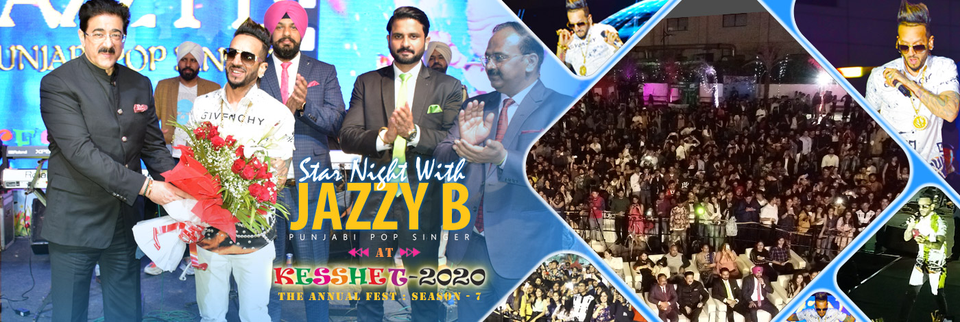 jazzyB at asian business school noida [ABS Noida]