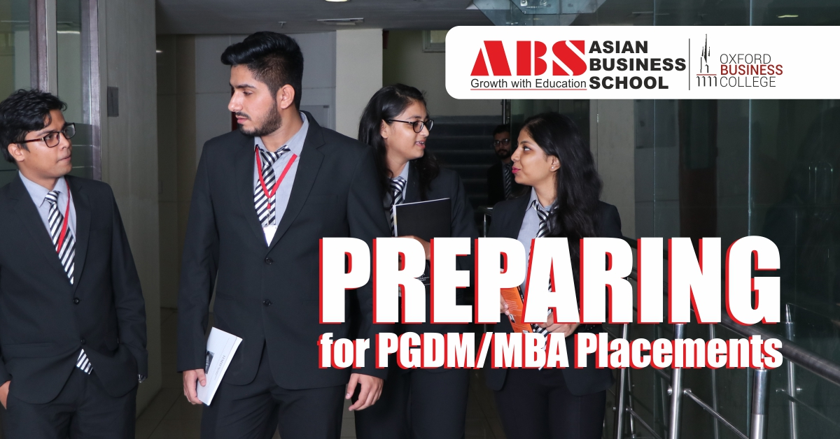 How to Prepare for PGDM/MBA Placements