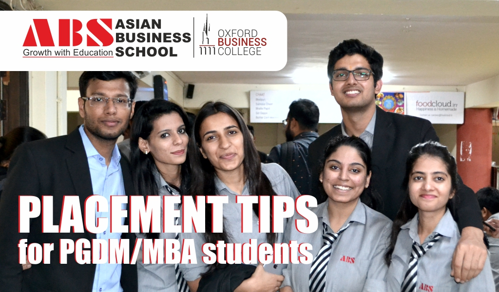 Placement Tips for PGDM/MBA students