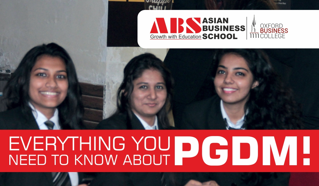 Everything You Need to Know About PGDM