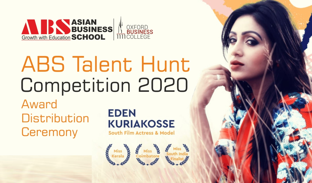ABS Cultural Club organized a unique virtual  'TALENT HUNT COMPETITION' for the new batch of 'ABS PGDM 2020'!