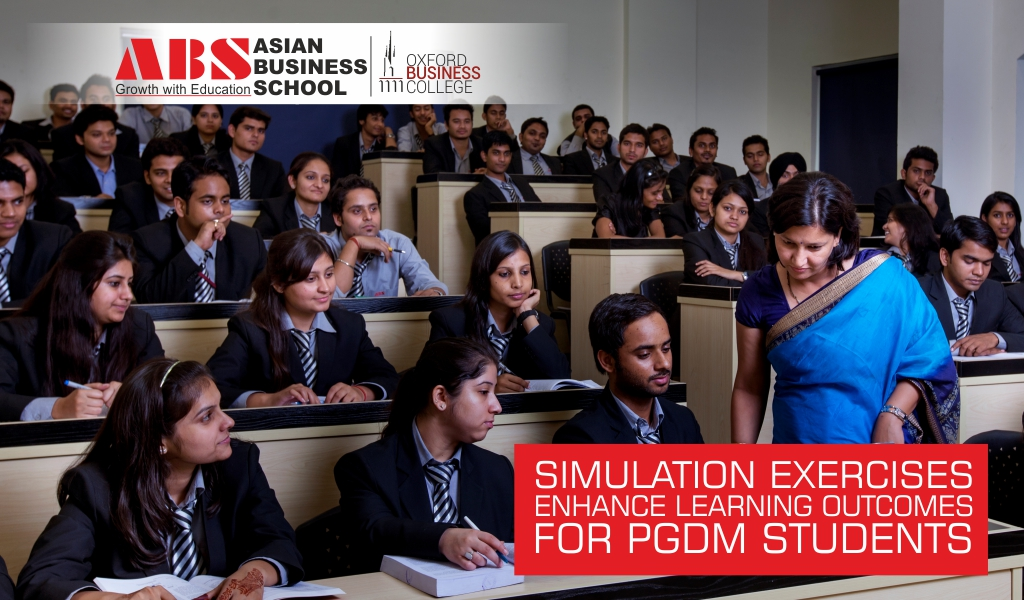 Simulation Games Enhance Learning Outcomes for PGDM & MBA Students
