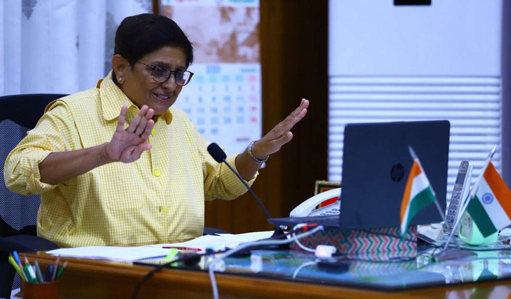 """DR. KIRAN BEDI's Live Session on """"IMPORTANCE OF DISCIPLINE & INTEGRITY IN EVERYDAY LIFE"""" for ABS PGDM Students!"""