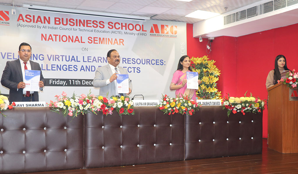 """ABS hosts a high-pitch NATIONAL SEMINAR on """"Developing Virtual Learning Resources: Challenges & Prospects"""""""