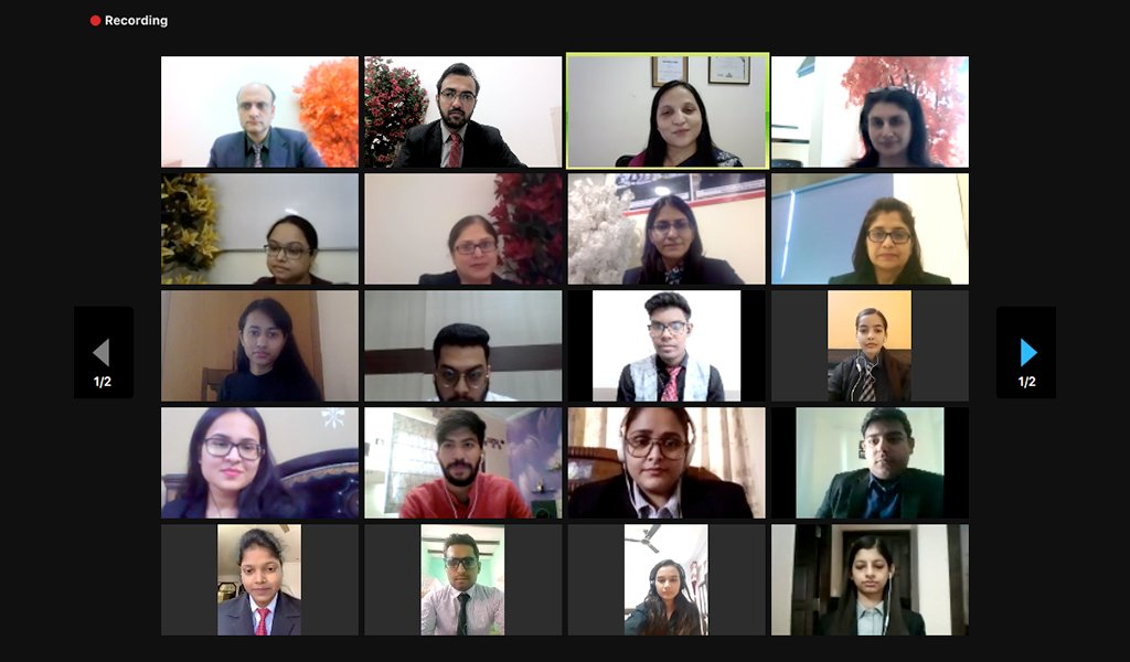 """ABS Marketing Club-MARKETECHOS conducts the much-awaited National Marketing Plan Competition – """"MARKETING MANIA"""" – with great success!"""