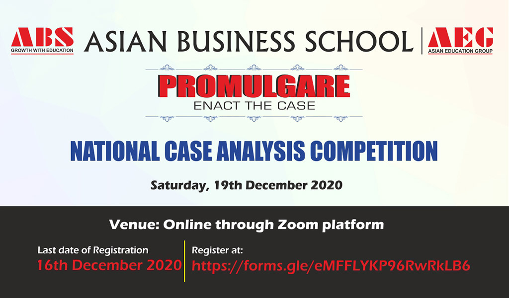 ABS PROMULGARE 2020 – National Case Analysis Competition