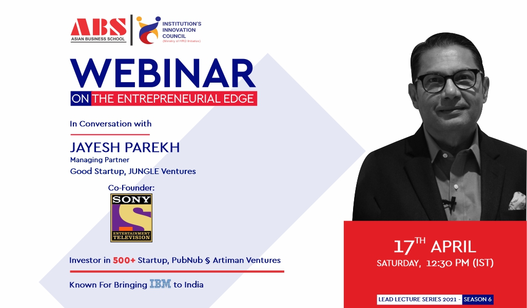 Mr. JAYESH PAREKH – delivers a highly insightful live session for ABS PGDM students!