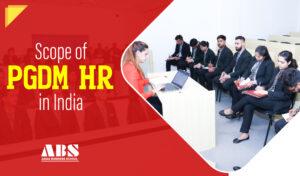 scope of PGDM HR