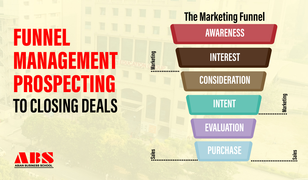 Funnel Management – Prospecting to Closing Deals
