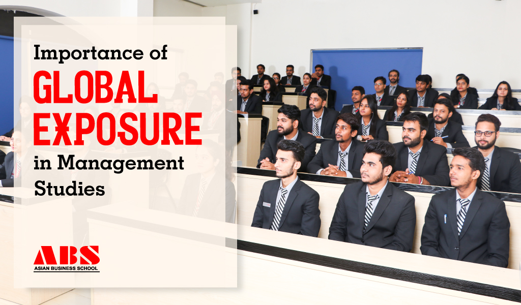 Importance of Global Exposure in Management Studies